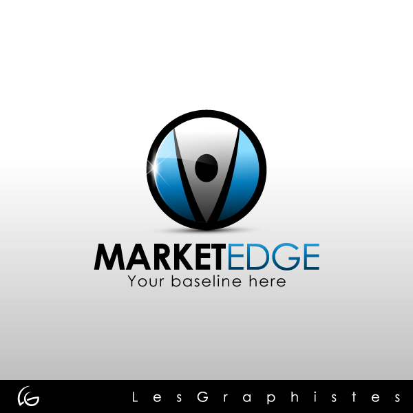 Logo Design by Les-Graphistes - Entry No. 19 in the Logo Design Contest Market Edge or Marketedge.