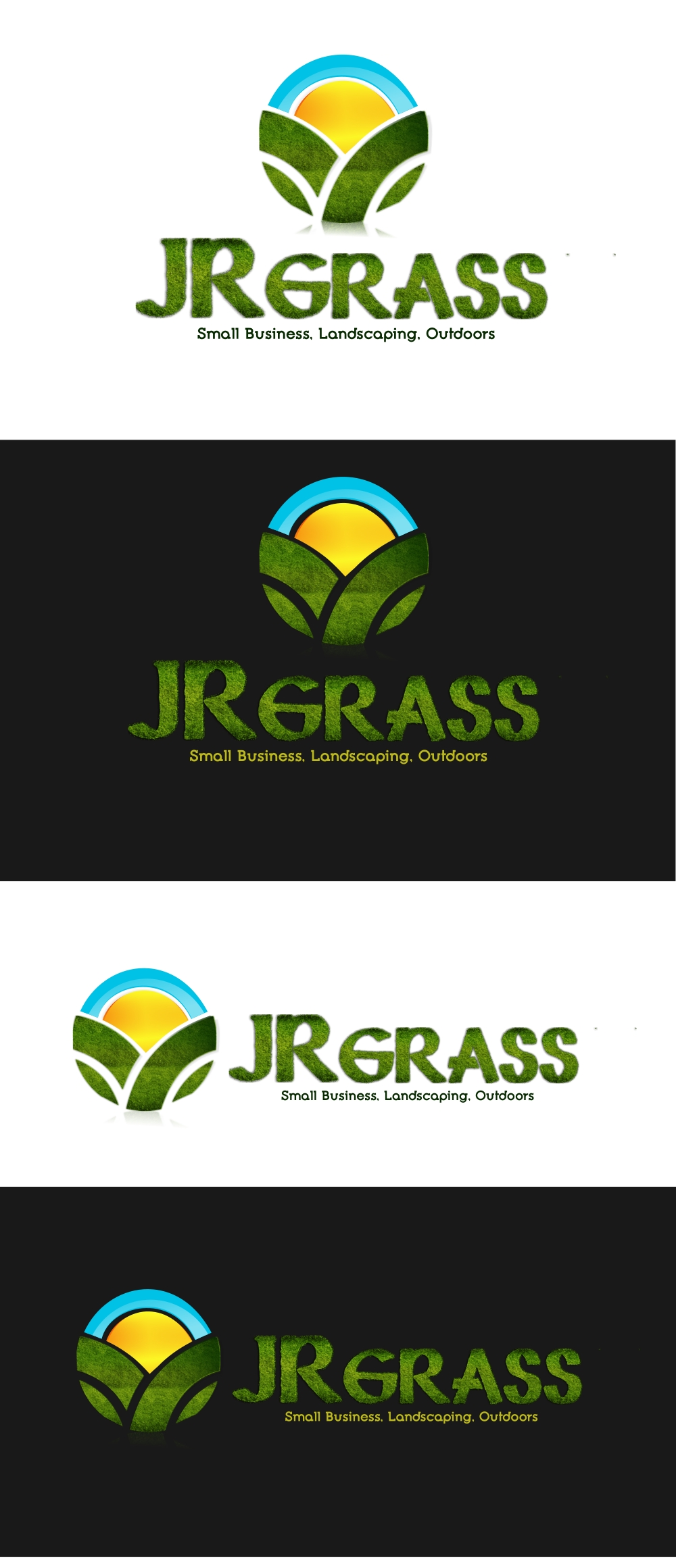 Logo Design by Private User - Entry No. 32 in the Logo Design Contest Inspiring Logo Design for JR Grass.
