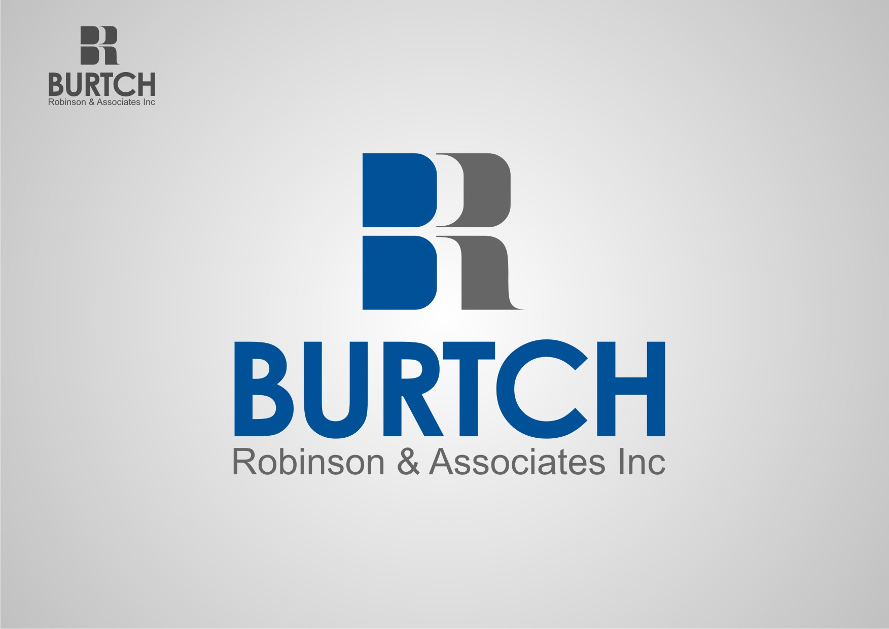 Logo Design by Private User - Entry No. 17 in the Logo Design Contest Unique Logo Design Wanted for Burtch, Robinson & Associates Inc..