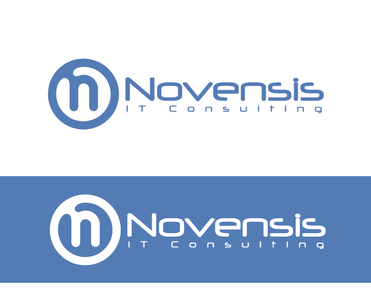 Logo Design by VENTSISLAV KOVACHEV - Entry No. 83 in the Logo Design Contest Novensis Logo Design.