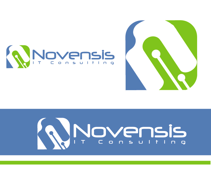Logo Design by VENTSISLAV KOVACHEV - Entry No. 84 in the Logo Design Contest Novensis Logo Design.