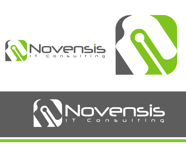 Logo Design by VENTSISLAV KOVACHEV - Entry No. 85 in the Logo Design Contest Novensis Logo Design.
