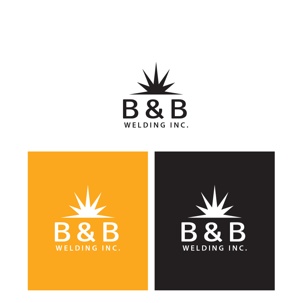 Logo Design by danelav - Entry No. 59 in the Logo Design Contest Fun Logo Design for B&B Welding Inc..