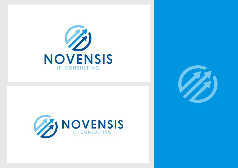 Logo Design by Fita Tiara Sani - Entry No. 89 in the Logo Design Contest Novensis Logo Design.