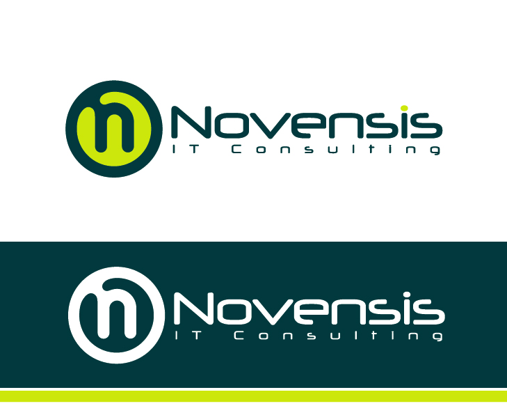 Logo Design by VENTSISLAV KOVACHEV - Entry No. 91 in the Logo Design Contest Novensis Logo Design.