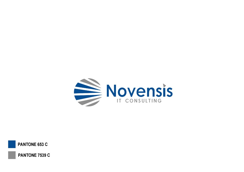 Logo Design by Fita Tiara Sani - Entry No. 92 in the Logo Design Contest Novensis Logo Design.