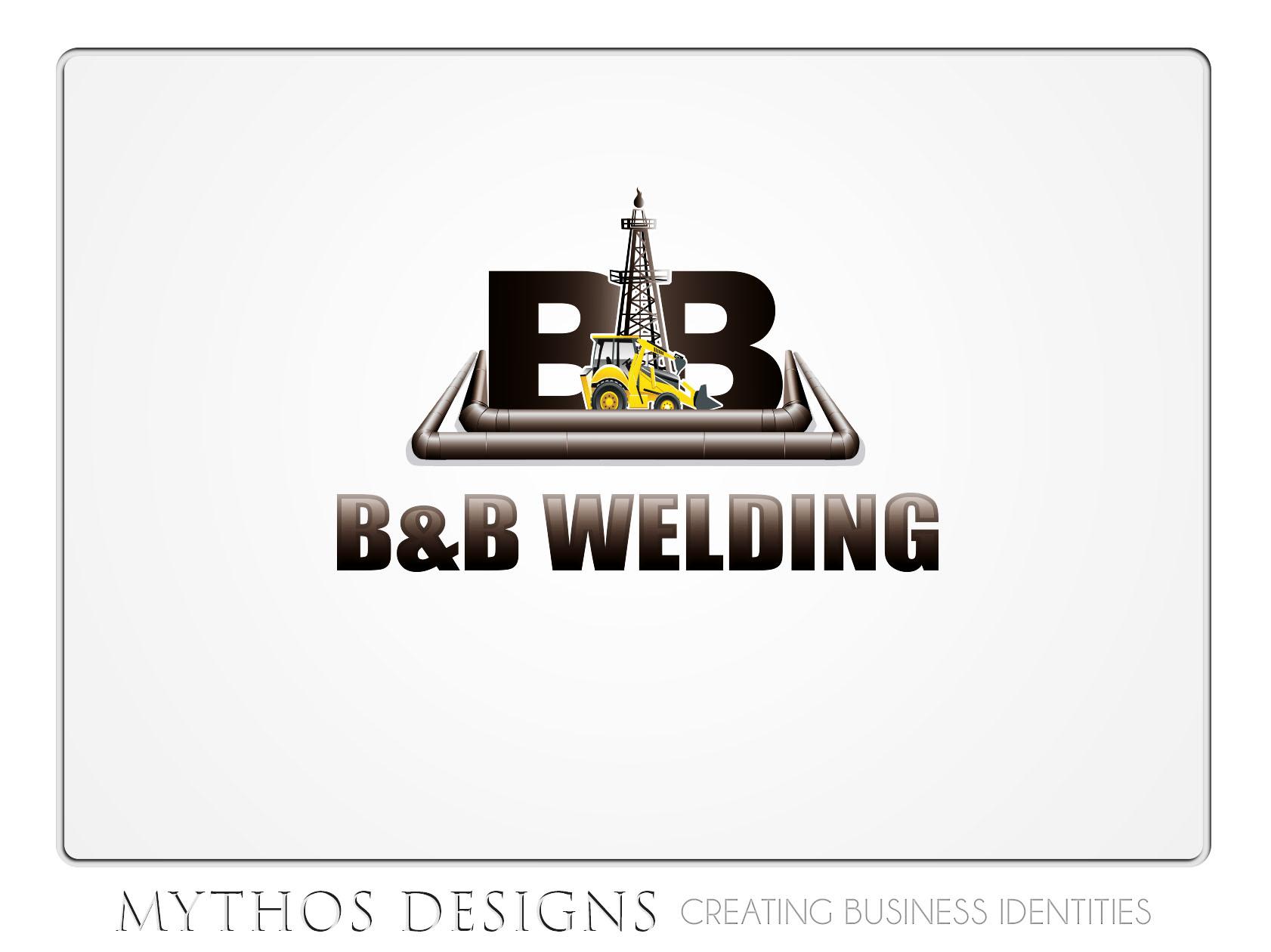 Logo Design by OmegaDesigns - Entry No. 60 in the Logo Design Contest Fun Logo Design for B&B Welding Inc..