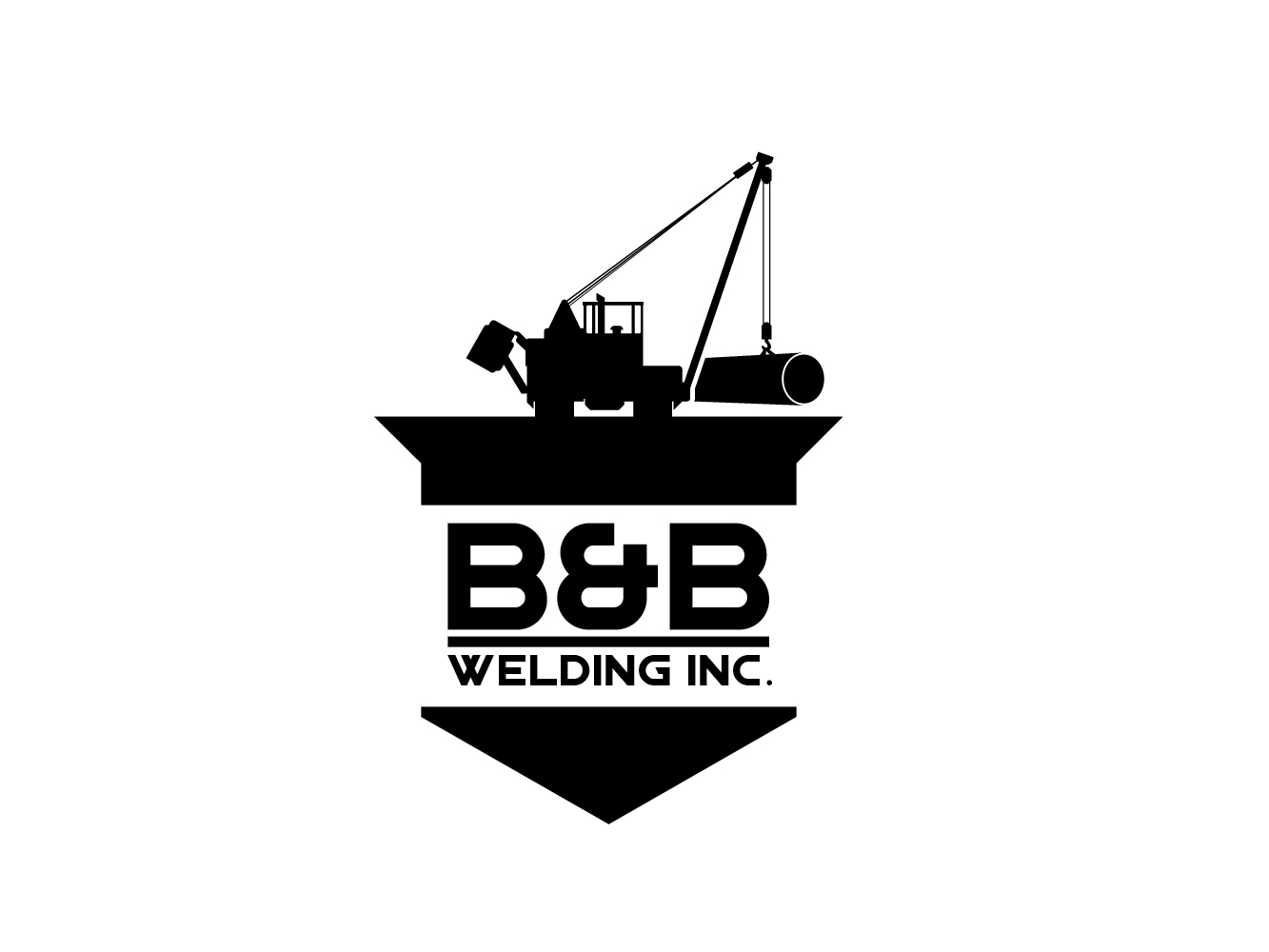 Logo Design by Cutris Lotter - Entry No. 64 in the Logo Design Contest Fun Logo Design for B&B Welding Inc..