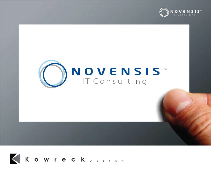 Logo Design by kowreck - Entry No. 97 in the Logo Design Contest Novensis Logo Design.