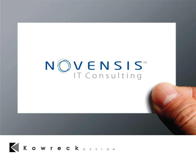 Logo Design by kowreck - Entry No. 99 in the Logo Design Contest Novensis Logo Design.