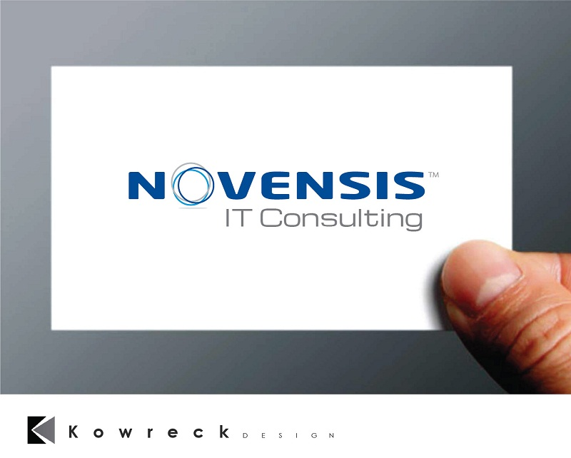 Logo Design by kowreck - Entry No. 102 in the Logo Design Contest Novensis Logo Design.