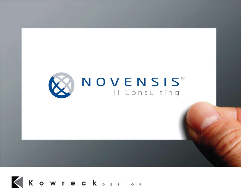 Logo Design by kowreck - Entry No. 103 in the Logo Design Contest Novensis Logo Design.
