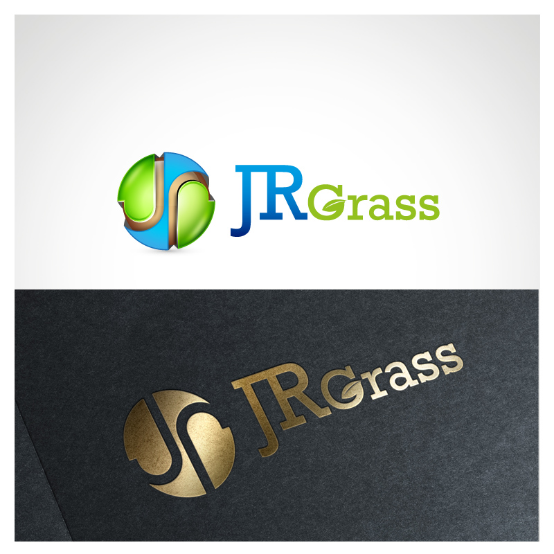 Logo Design by Puspita Wahyuni - Entry No. 34 in the Logo Design Contest Inspiring Logo Design for JR Grass.