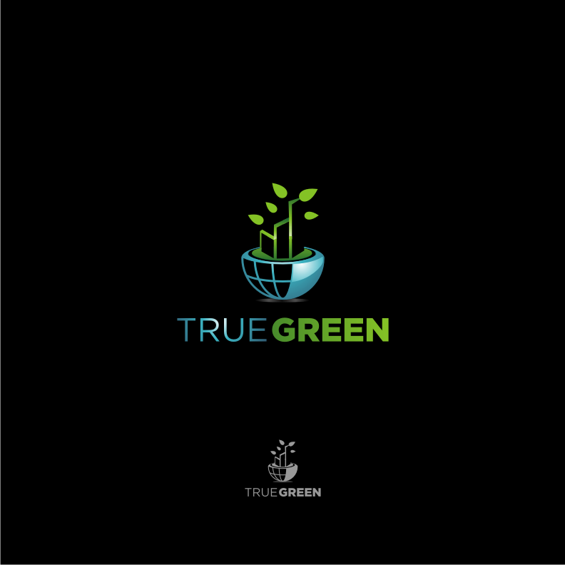 Logo Design by graphicleaf - Entry No. 68 in the Logo Design Contest Fun Logo Design for TRUE GREEN.