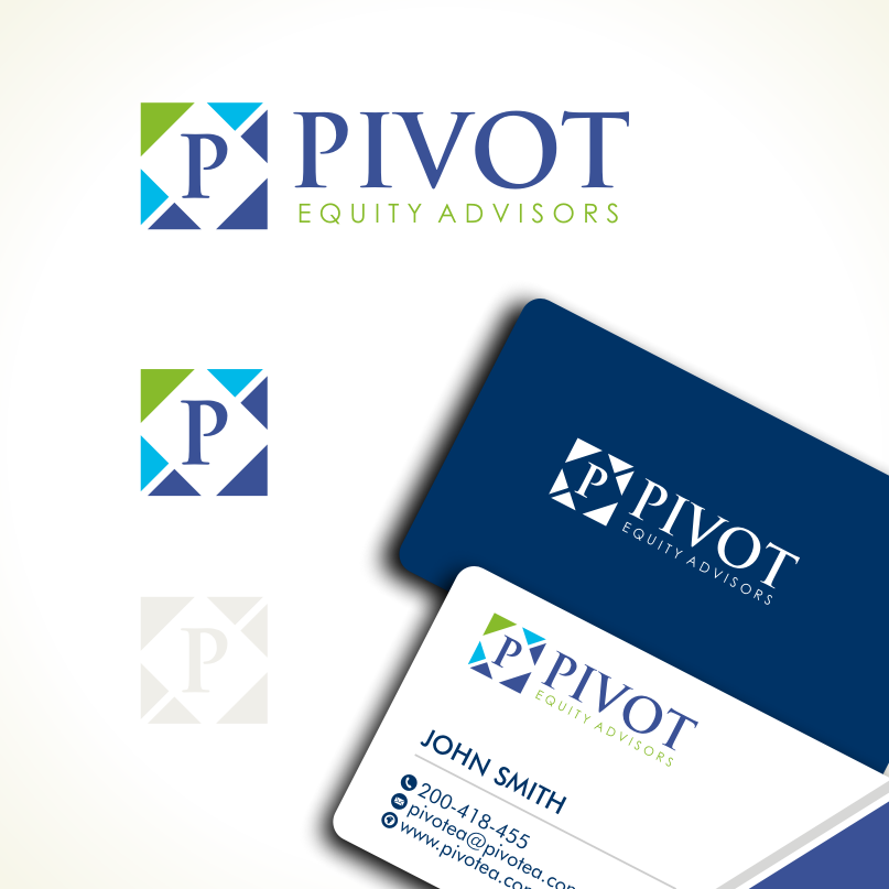 Logo Design by Private User - Entry No. 101 in the Logo Design Contest Unique Logo Design Wanted for Pivot Equity Advisors.