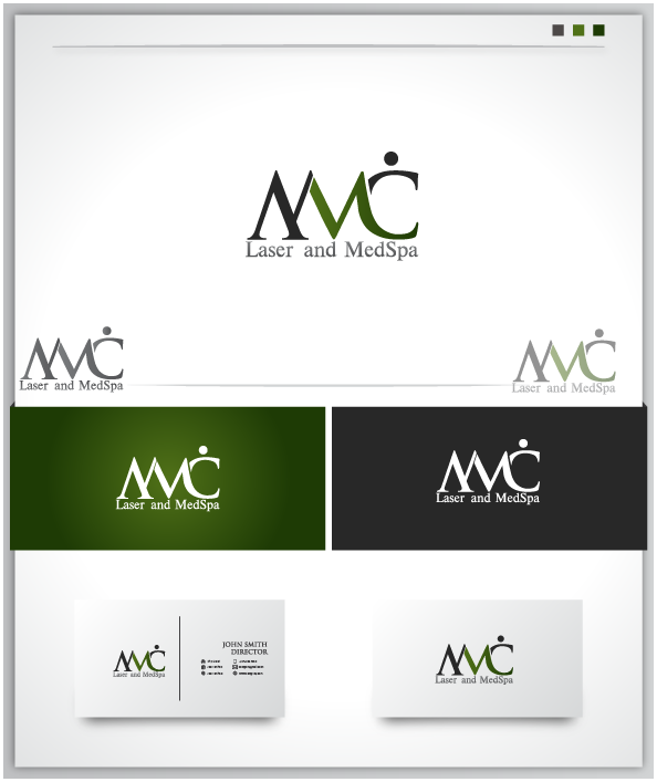 Logo Design by Private User - Entry No. 11 in the Logo Design Contest Unique Logo Design Wanted for Missouri Vein Care Laser and MedSpa.