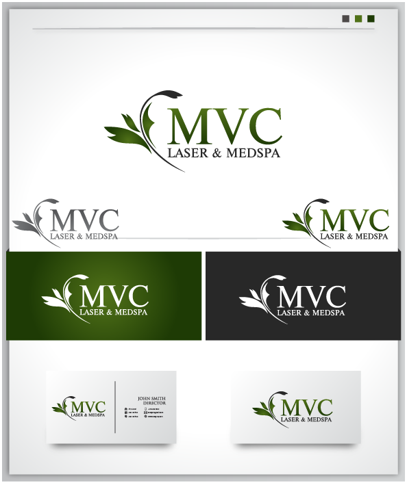 Logo Design by Private User - Entry No. 12 in the Logo Design Contest Unique Logo Design Wanted for Missouri Vein Care Laser and MedSpa.