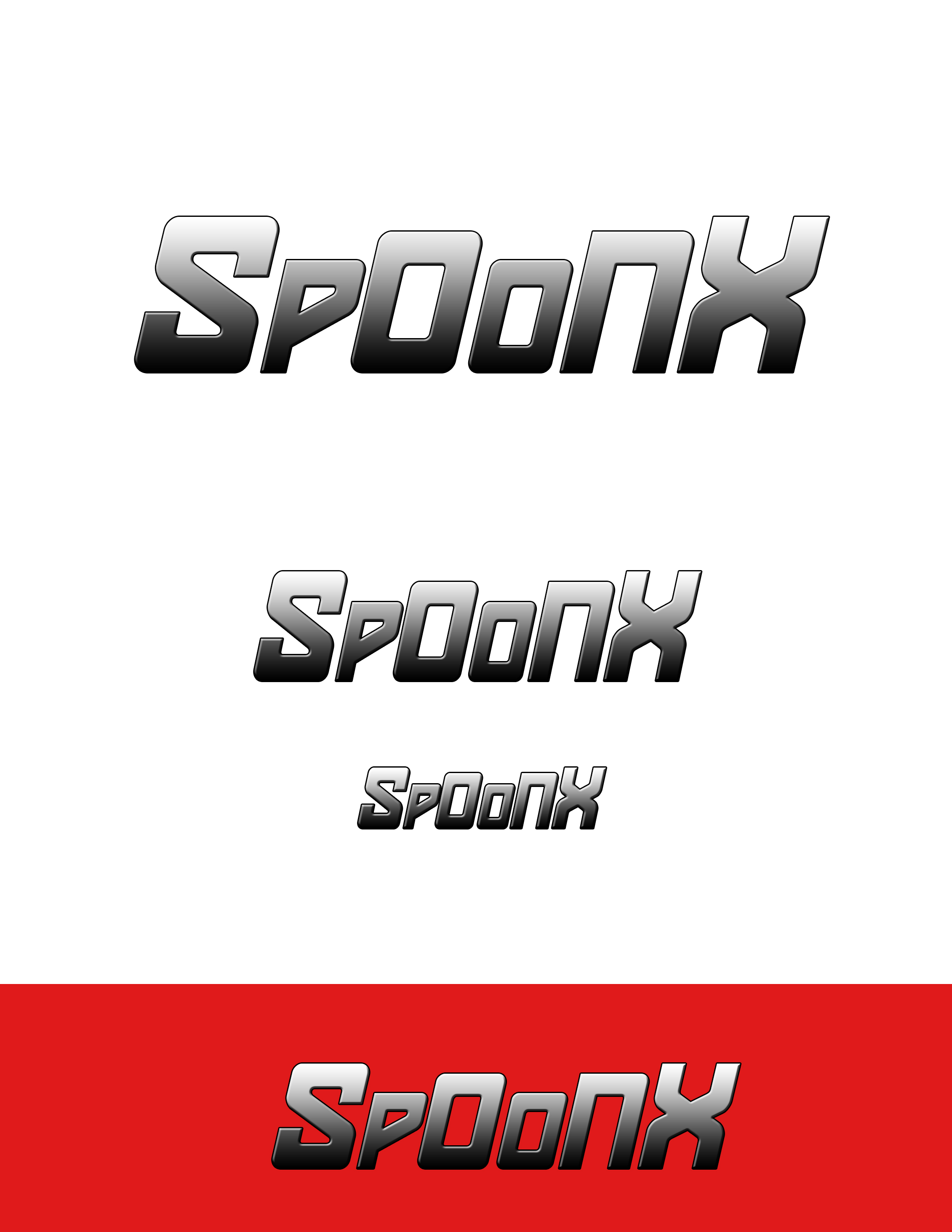Logo Design by Nenad Hodak - Entry No. 11 in the Logo Design Contest Captivating Logo Design for SpoonX.