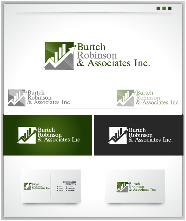 Logo Design by Private User - Entry No. 19 in the Logo Design Contest Unique Logo Design Wanted for Burtch, Robinson & Associates Inc..