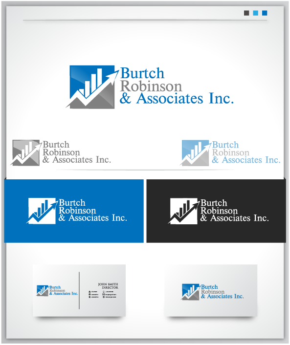 Logo Design by Private User - Entry No. 21 in the Logo Design Contest Unique Logo Design Wanted for Burtch, Robinson & Associates Inc..