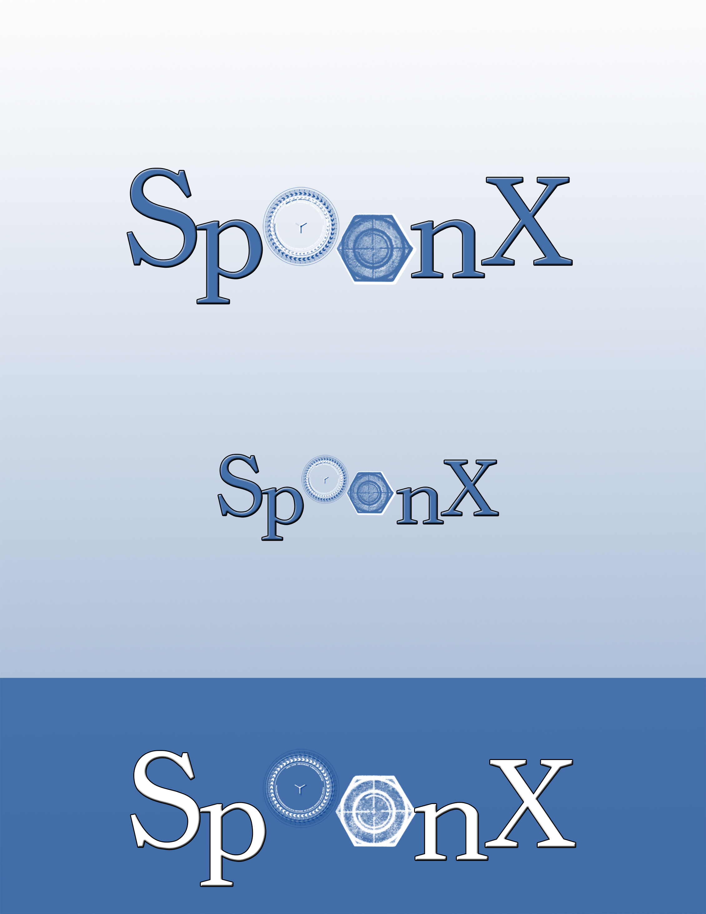 Logo Design by Nenad Hodak - Entry No. 12 in the Logo Design Contest Captivating Logo Design for SpoonX.