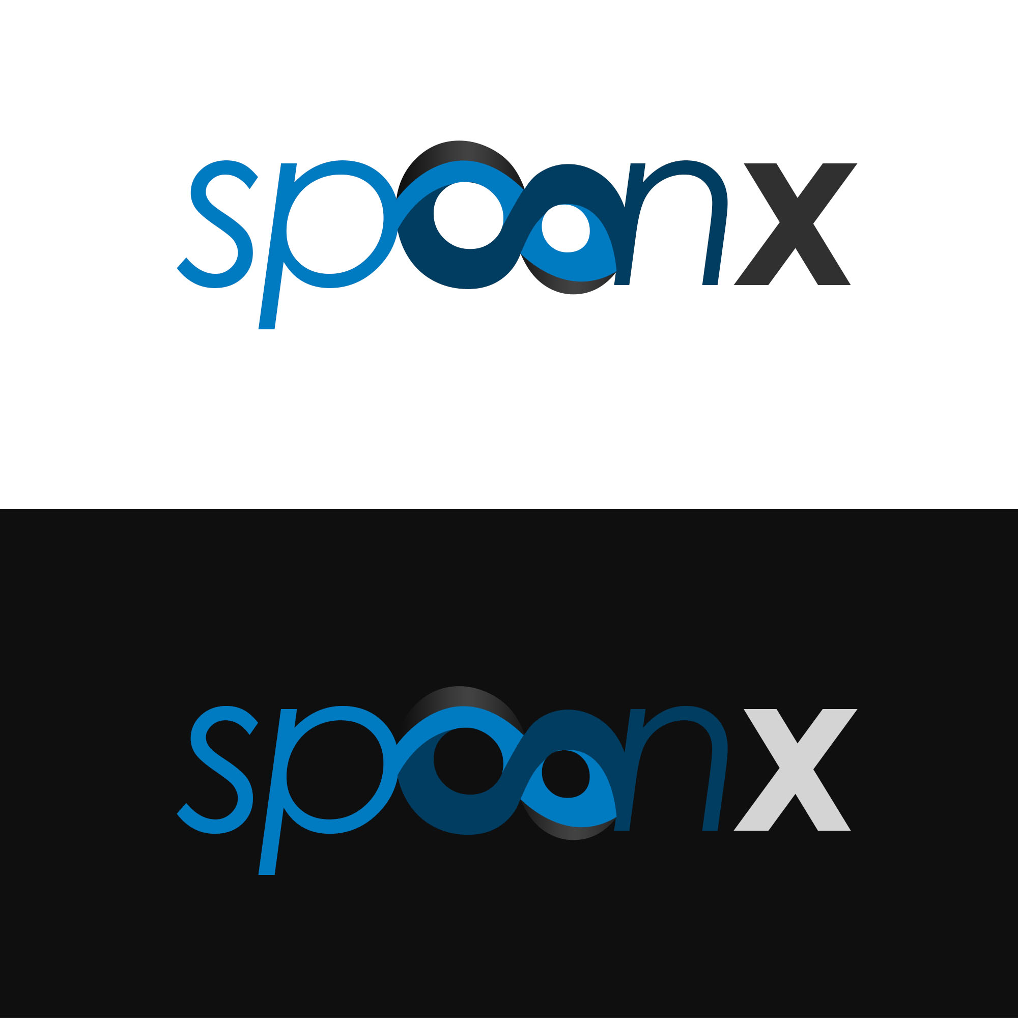 Logo Design by Kenneth Joel - Entry No. 13 in the Logo Design Contest Captivating Logo Design for SpoonX.