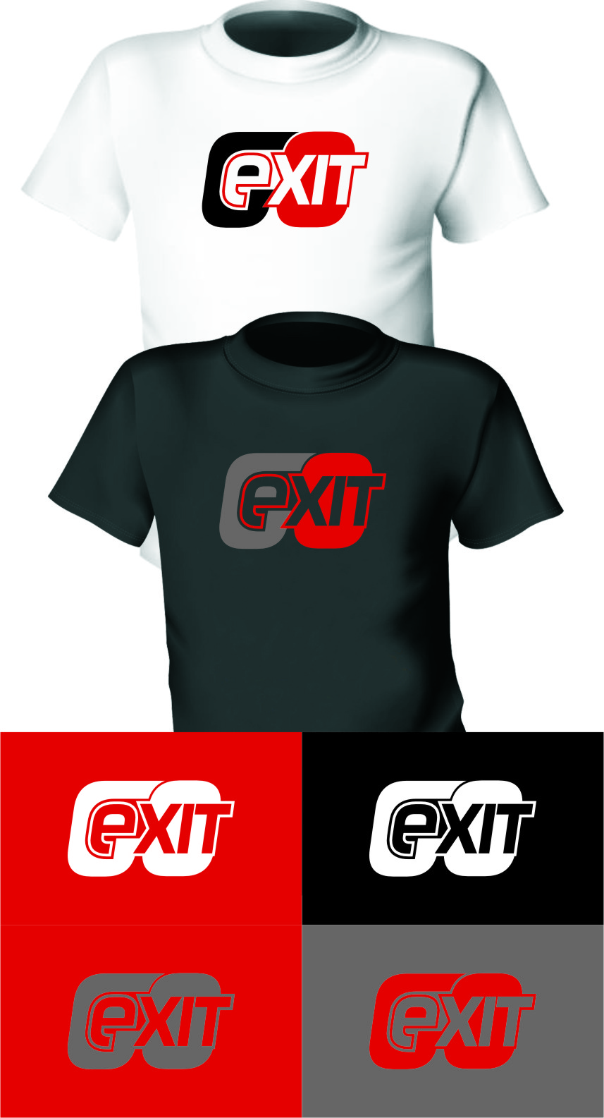 Logo Design by Ngepet_art - Entry No. 158 in the Logo Design Contest GoExit Logo Design.
