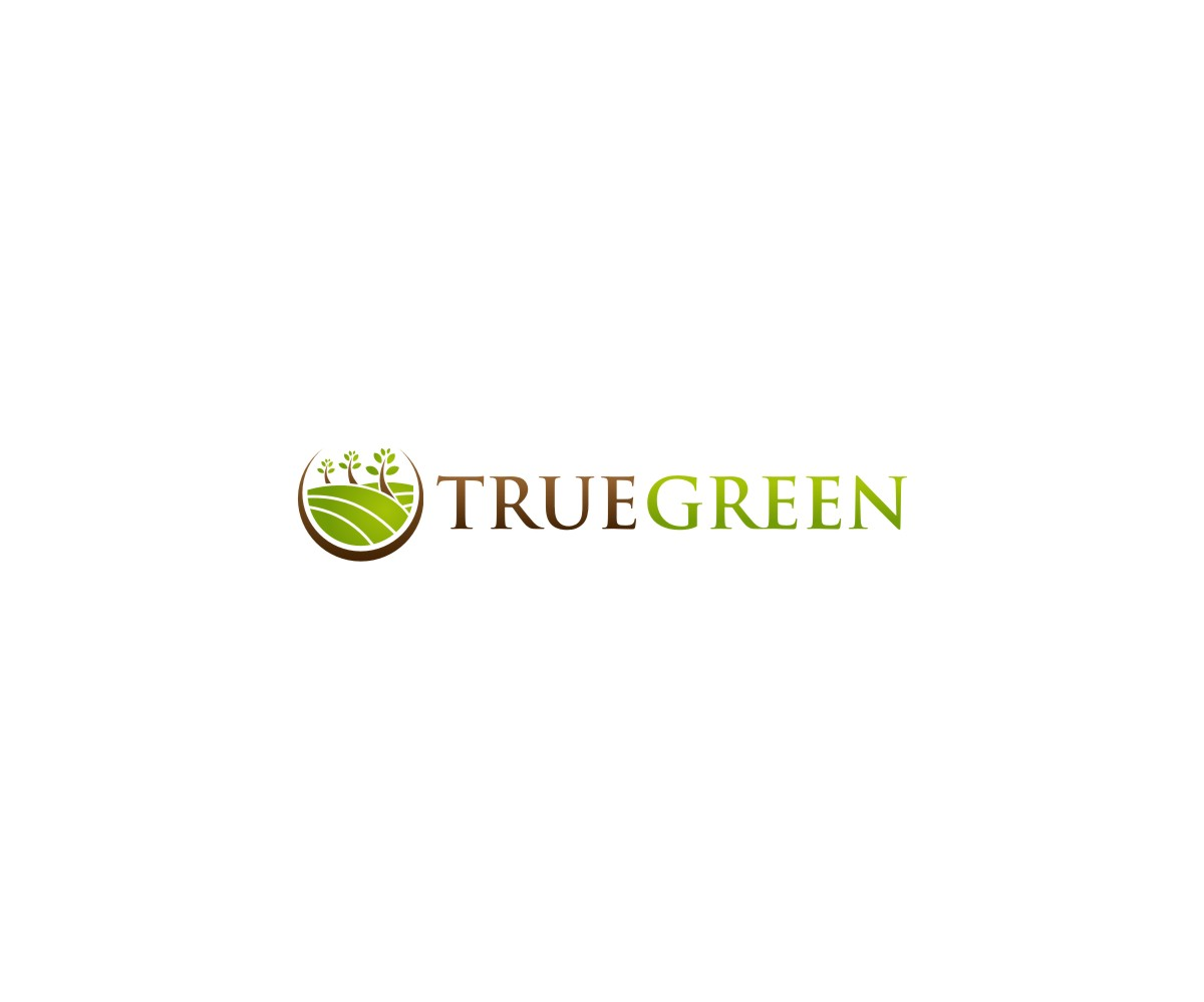 Logo Design by untung - Entry No. 77 in the Logo Design Contest Fun Logo Design for TRUE GREEN.