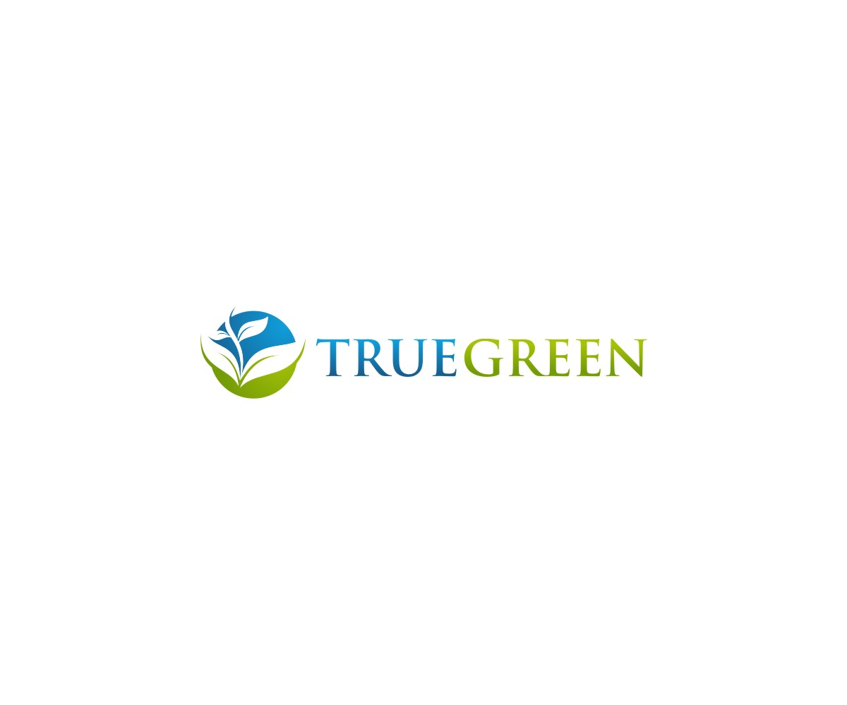 Logo Design by untung - Entry No. 78 in the Logo Design Contest Fun Logo Design for TRUE GREEN.