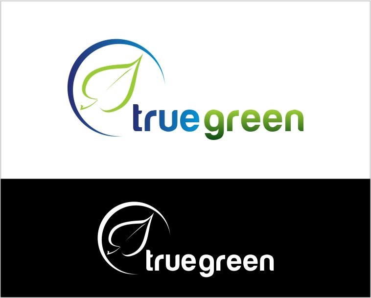 Logo Design by Private User - Entry No. 80 in the Logo Design Contest Fun Logo Design for TRUE GREEN.