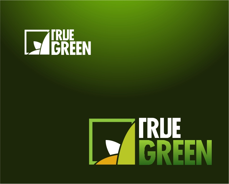 Logo Design by Private User - Entry No. 81 in the Logo Design Contest Fun Logo Design for TRUE GREEN.