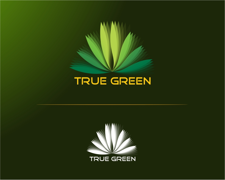 Logo Design by Private User - Entry No. 82 in the Logo Design Contest Fun Logo Design for TRUE GREEN.