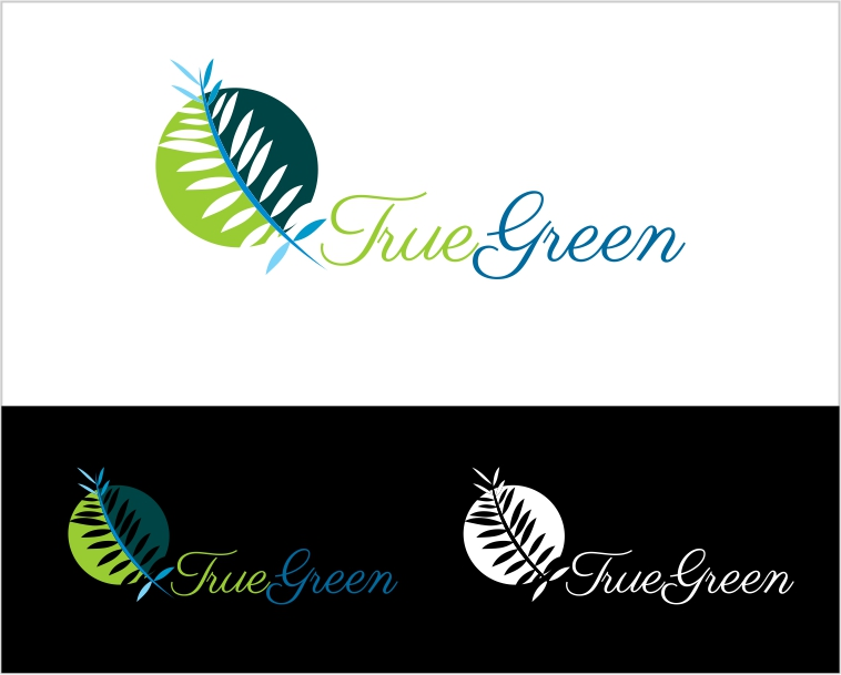 Logo Design by Private User - Entry No. 83 in the Logo Design Contest Fun Logo Design for TRUE GREEN.