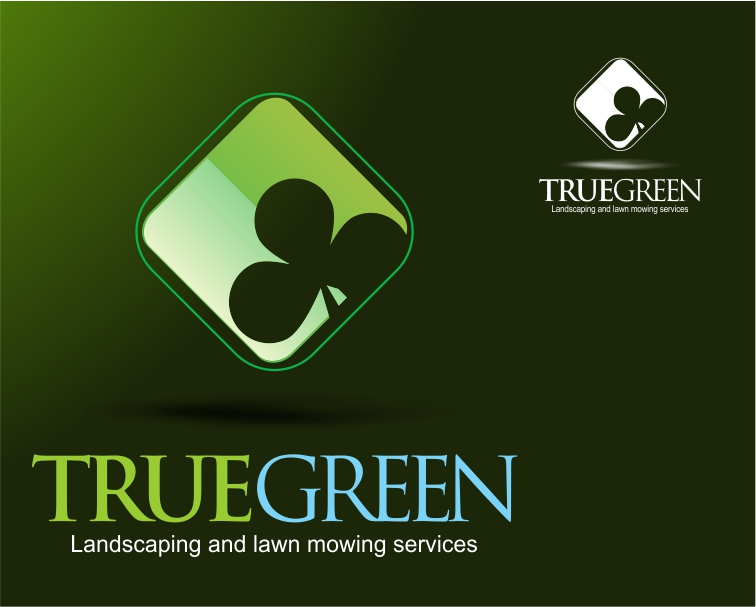 Logo Design by Private User - Entry No. 85 in the Logo Design Contest Fun Logo Design for TRUE GREEN.