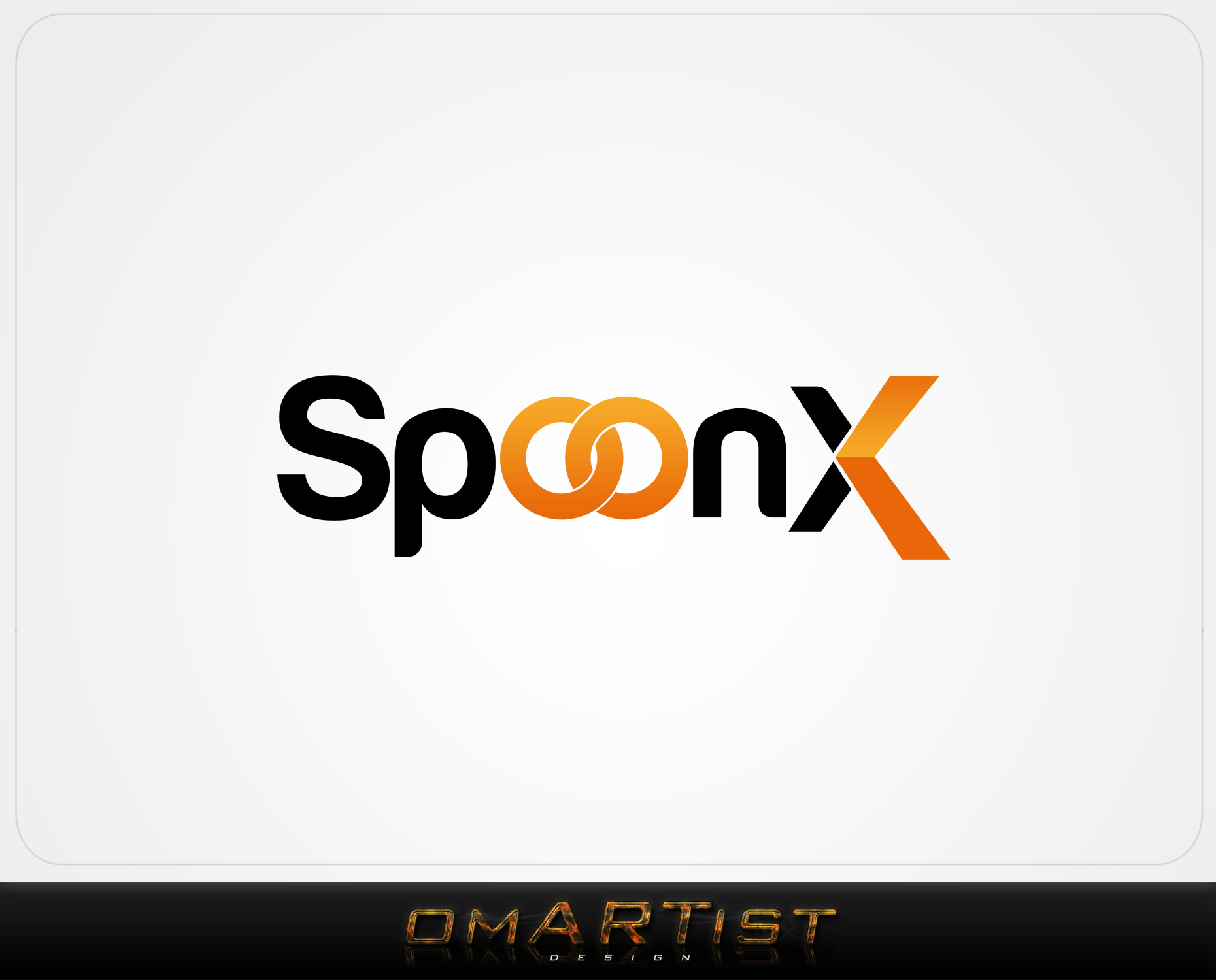 Logo Design by omARTist - Entry No. 15 in the Logo Design Contest Captivating Logo Design for SpoonX.