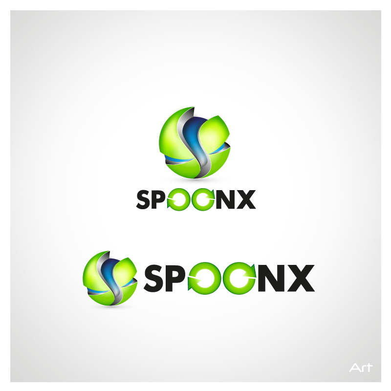 Logo Design by Puspita Wahyuni - Entry No. 16 in the Logo Design Contest Captivating Logo Design for SpoonX.