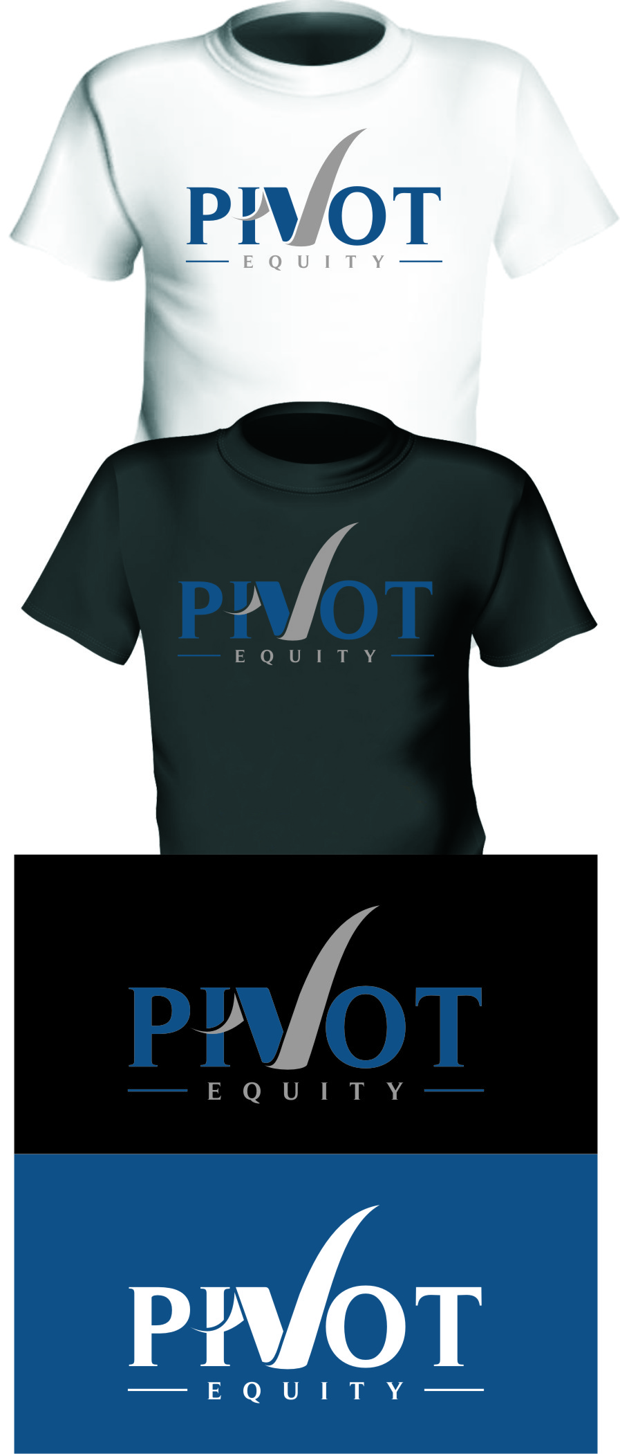 Logo Design by Ngepet_art - Entry No. 111 in the Logo Design Contest Unique Logo Design Wanted for Pivot Equity Advisors.