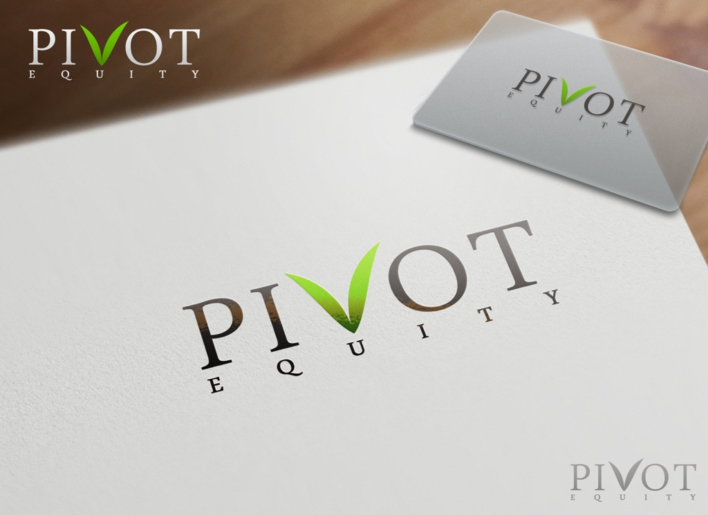 Logo Design by Juan_Kata - Entry No. 113 in the Logo Design Contest Unique Logo Design Wanted for Pivot Equity Advisors.