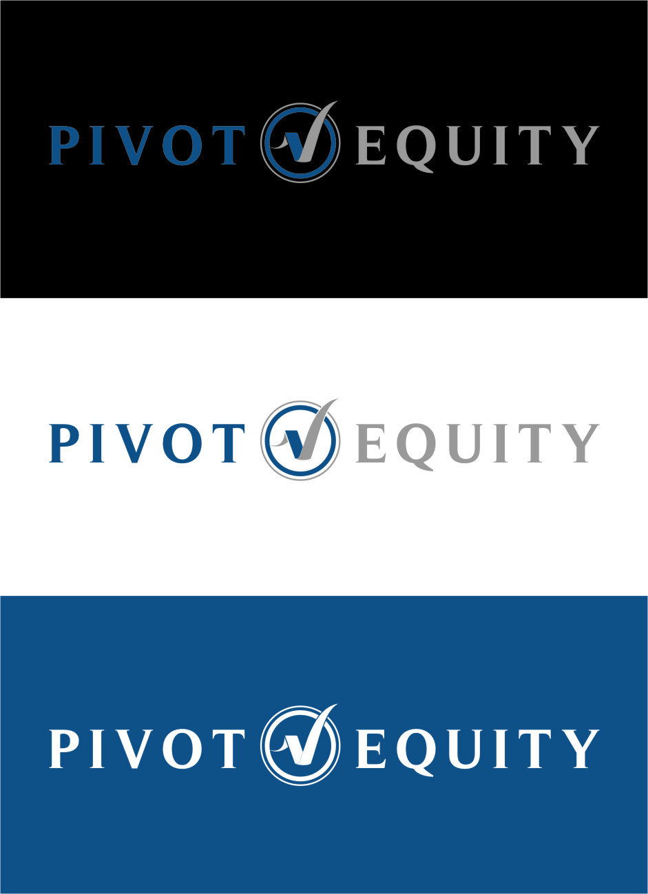 Logo Design by Ngepet_art - Entry No. 114 in the Logo Design Contest Unique Logo Design Wanted for Pivot Equity Advisors.