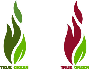 Logo Design by Bhaskar Singh - Entry No. 95 in the Logo Design Contest Fun Logo Design for TRUE GREEN.