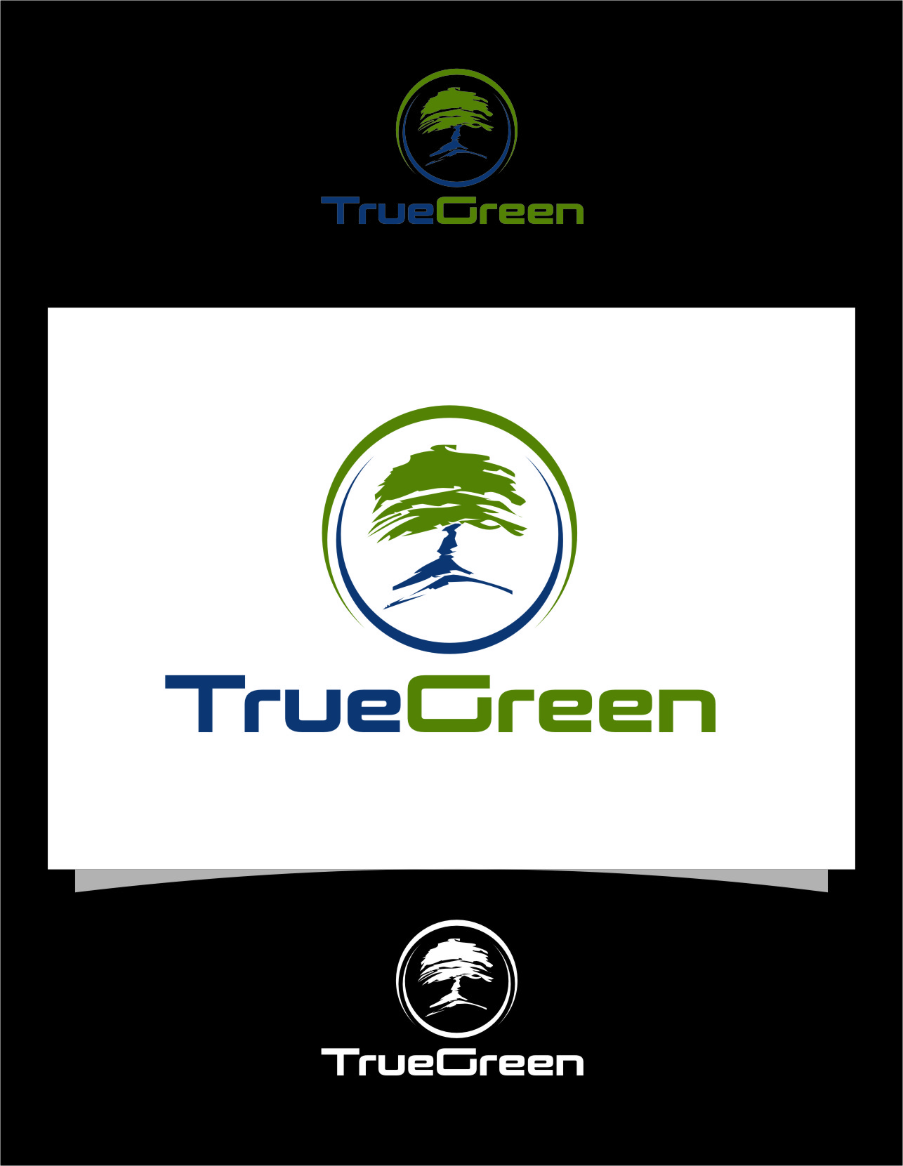 Logo Design by Ngepet_art - Entry No. 96 in the Logo Design Contest Fun Logo Design for TRUE GREEN.