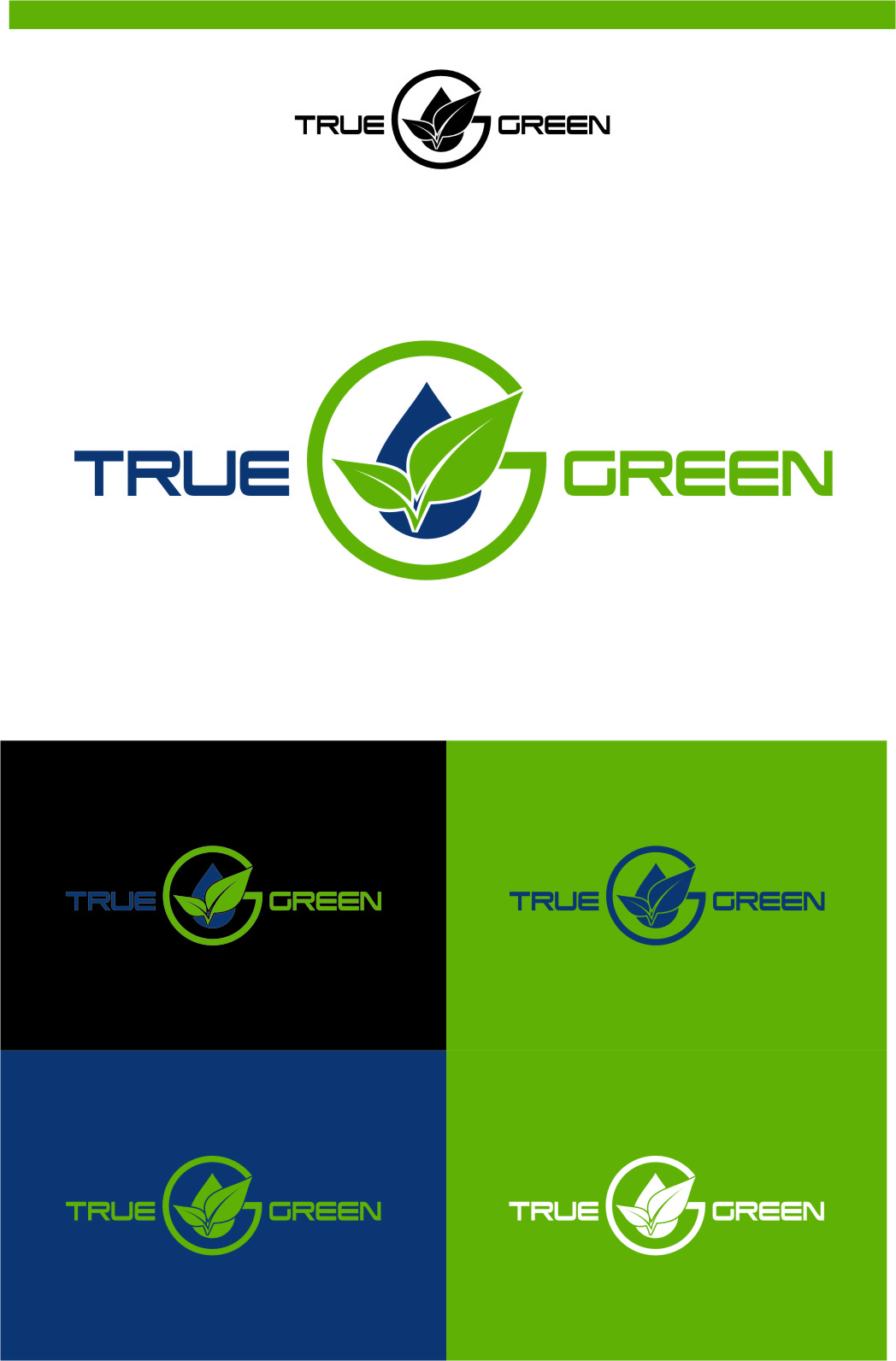 Logo Design by Ngepet_art - Entry No. 97 in the Logo Design Contest Fun Logo Design for TRUE GREEN.