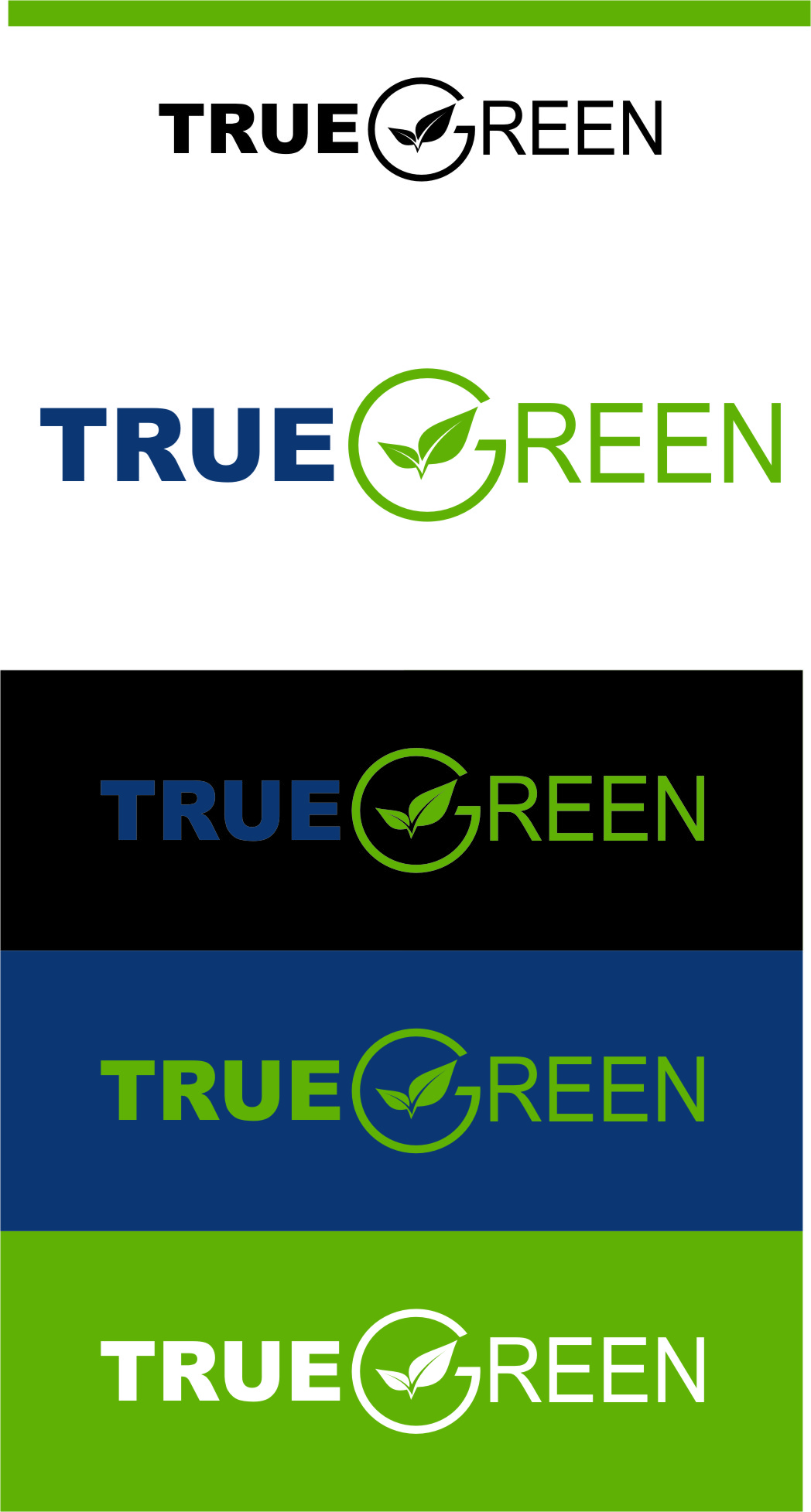 Logo Design by Ngepet_art - Entry No. 100 in the Logo Design Contest Fun Logo Design for TRUE GREEN.