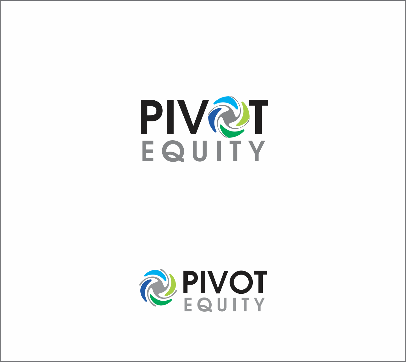 Logo Design by Armada Jamaluddin - Entry No. 115 in the Logo Design Contest Unique Logo Design Wanted for Pivot Equity Advisors.