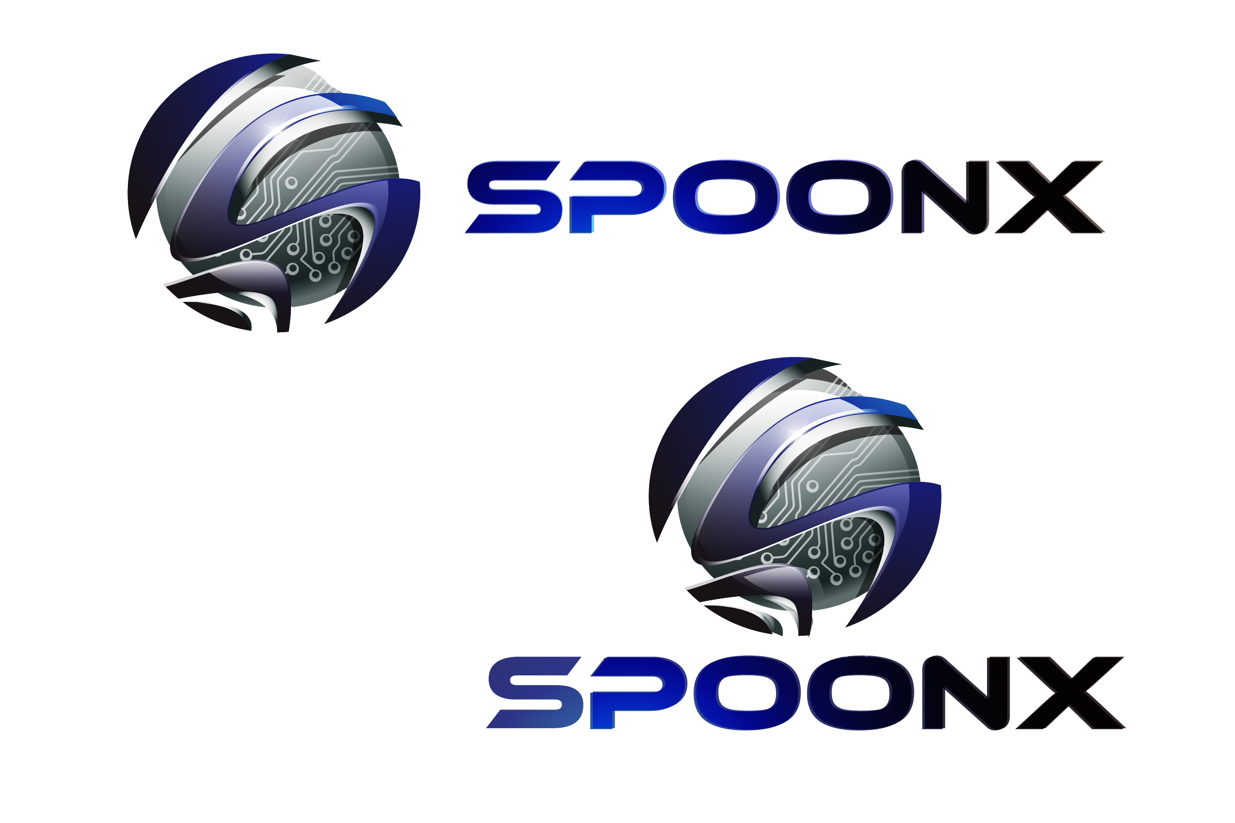 Logo Design by VENTSISLAV KOVACHEV - Entry No. 21 in the Logo Design Contest Captivating Logo Design for SpoonX.