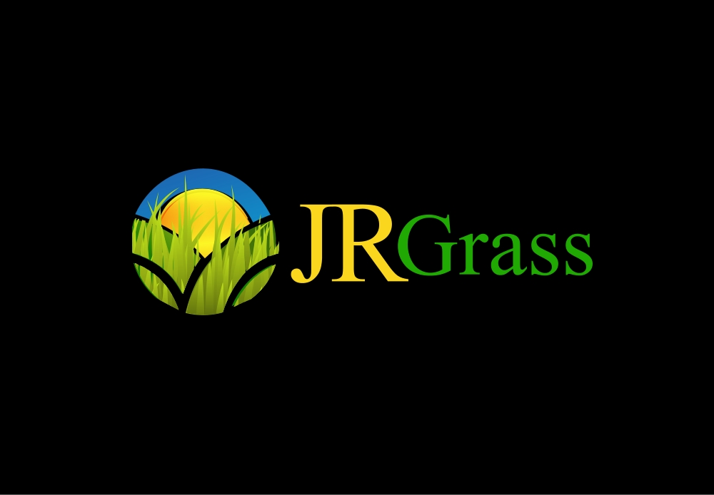 Logo Design by Private User - Entry No. 38 in the Logo Design Contest Inspiring Logo Design for JR Grass.