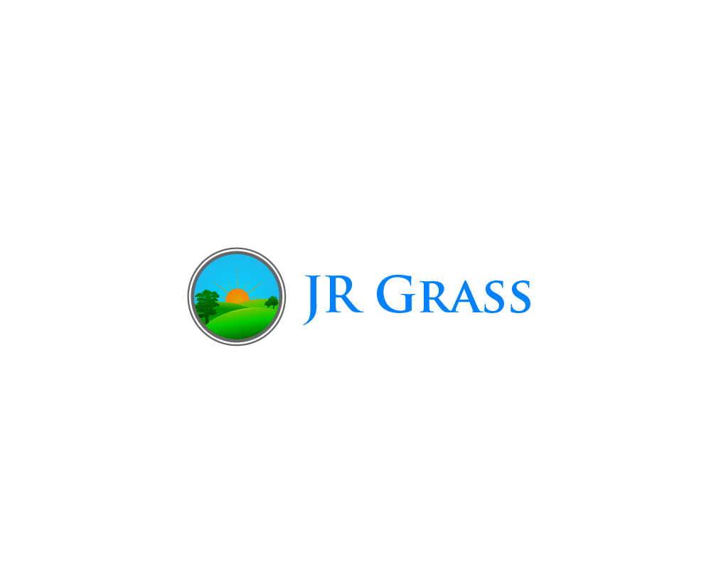 Logo Design by Juan Luna - Entry No. 42 in the Logo Design Contest Inspiring Logo Design for JR Grass.