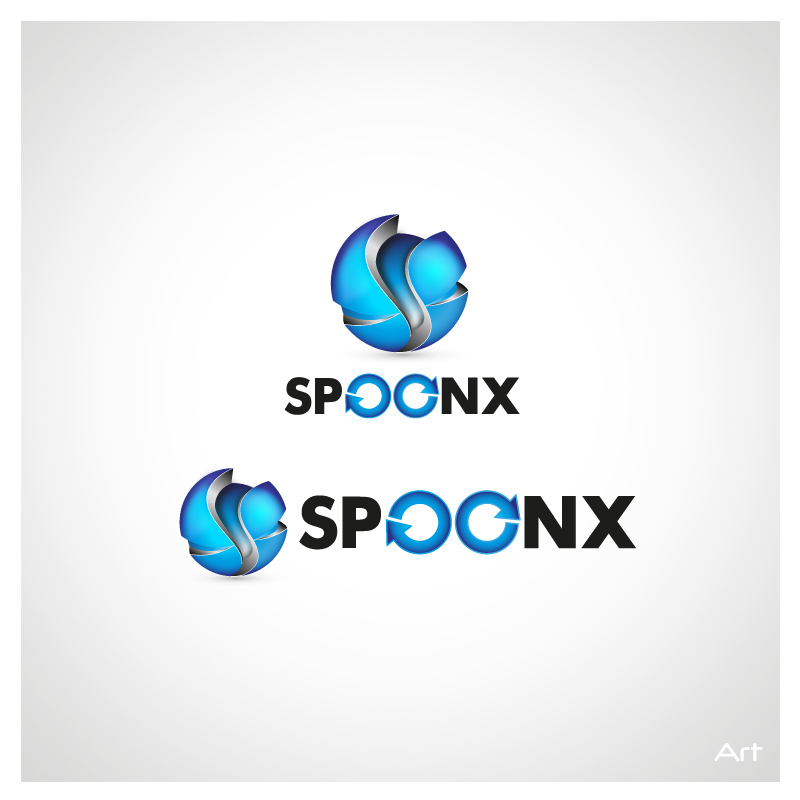 Logo Design by Puspita Wahyuni - Entry No. 23 in the Logo Design Contest Captivating Logo Design for SpoonX.