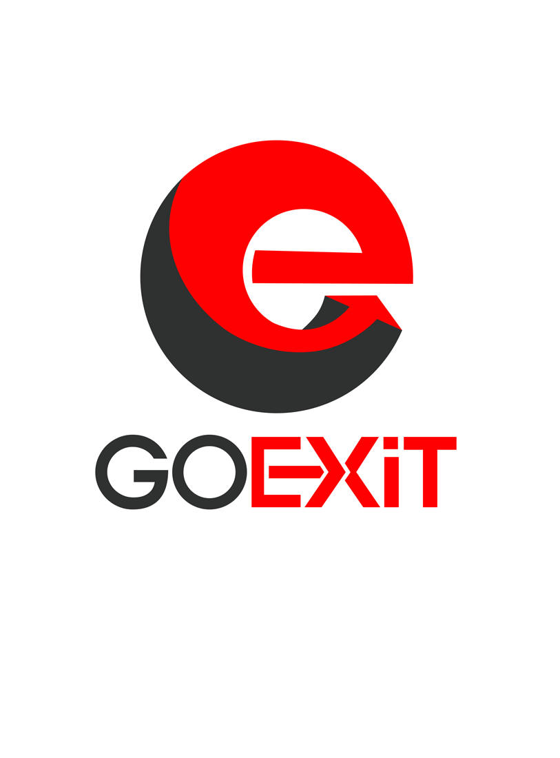 Logo Design by Private User - Entry No. 166 in the Logo Design Contest GoExit Logo Design.