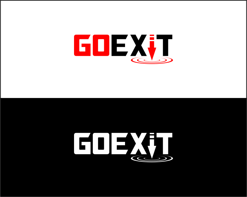 Logo Design by Agus Martoyo - Entry No. 167 in the Logo Design Contest GoExit Logo Design.